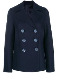 JOSEPH - Double Breasted Jacket - Lyst