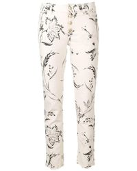 Dorothee Schumacher - Printed Skinny Jeans - Lyst