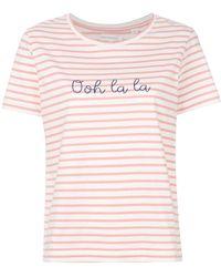 Chinti & Parker - Ooh La La Striped T-shirt - Lyst