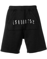 DSquared² - Shorts mit Logo - Lyst