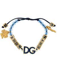 Dolce & Gabbana - Frong Logo Bracelet - Lyst