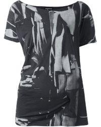 Ann Demeulemeester - 'lucian' T-shirt - Lyst