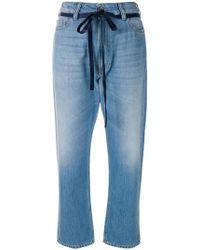 The Seafarer - Tie Waist Jeans - Lyst