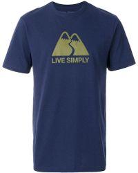 Patagonia - Slogan Slim Fit T-shirt - Lyst