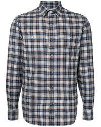 Gieves & Hawkes - Classic Plaid Shirt - Lyst