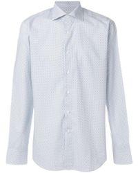 Canali   Printed Shirt   Lyst