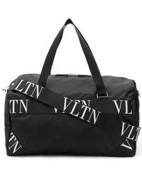 """Valentino - Borsa """"boston"""" In Nylon - Lyst"""