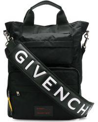 Givenchy - Logo Strap Messenger Bag - Lyst