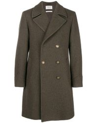 Paltò - Classic Double-breasted Coat - Lyst