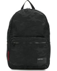 DIESEL - Camouflage Effect Backpack - Lyst