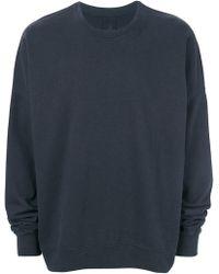Thom Krom - Back Tag Loose-fit Sweatshirt - Lyst