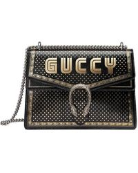 9611df9579ab74 Gucci Guccy Sega® Print Mini Shoulder Bag in White - Save 40% - Lyst