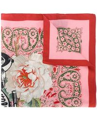 Mr & Mrs Italy - Printed Scarf - Lyst