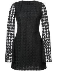 Rubin Singer - Houndstooth Lace Dress - Lyst