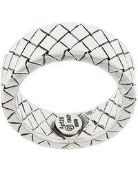 Bottega Veneta - Engraved Ring - Lyst