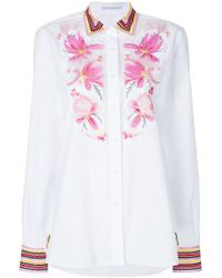 Ermanno Scervino - Embroidered Shirt - Lyst