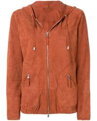 Eleventy - Zipped Hooded Jacket - Lyst