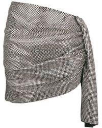 Magda Butrym - Gathered Asymmetric Skirt - Lyst