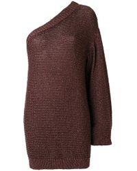 Stella McCartney - One Shoulder Sweater - Lyst