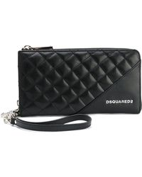 DSquared² | Large Icon Zip Wallet | Lyst