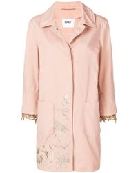 Bazar Deluxe - Embroidered Coat - Lyst