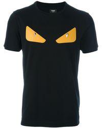 Fendi - 'monster' T-shirt - Lyst