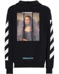 Off-White c/o Virgil Abloh | Mona Lisa Print Hoodie | Lyst