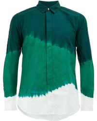 Suzusan - Dye Stripe Shirt - Lyst