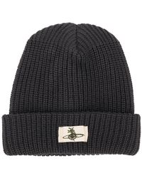 Vivienne Westwood - Orb Patch Beanie - Lyst