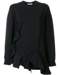 Givenchy - Ruffled Sweatshirt - Lyst