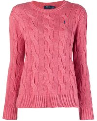Polo Ralph Lauren - Loose Knitted Top - Lyst