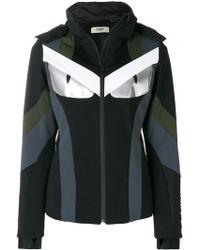 Fendi - Colour-block Fitted Jacket - Lyst