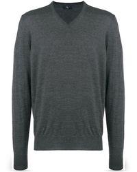 Fay - V-neck Pullover - Lyst