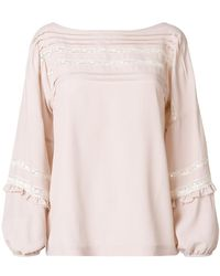 P.A.R.O.S.H. - Angelica Blouse - Lyst