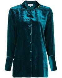 Mira Mikati - Velver Pyjama Shirt - Lyst