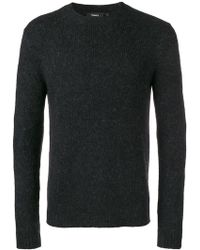 Theory - Classic Knit Sweater - Lyst