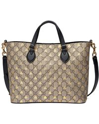 881ffb73aea Lyst - Women s Gucci Totes and shopper bags