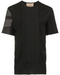 By Walid - Embroidered Short-sleeve Cotton T-shirt - Lyst