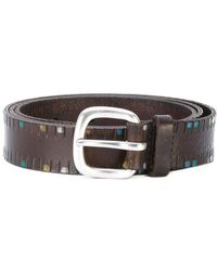 Orciani - Dotted Belt - Lyst
