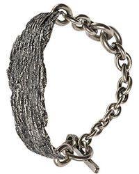 Tobias Wistisen - Wood Piece Effect Bracelet - Lyst