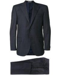 Corneliani - Checked Two-piece Suit - Lyst