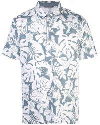 Michael Bastian - Poloshirt mit Print - Lyst