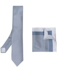 Brioni - Pocket Square & Tie Set - Lyst
