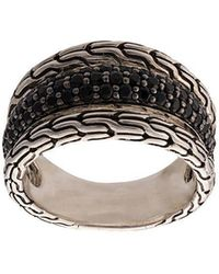 John Hardy - Classic Chain Spinel And Sapphire Ring - Lyst