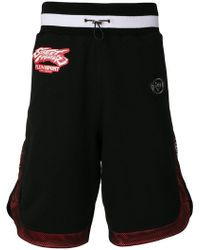 Philipp Plein - Street Fighter Track Shorts - Lyst