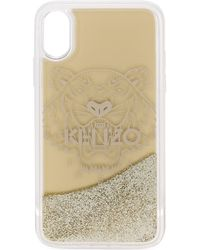 KENZO Tiger Iphone X/xs Hoesje - Metallic