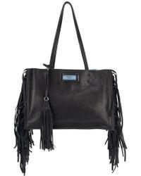 Prada - Fringed Shoulder Bag - Lyst