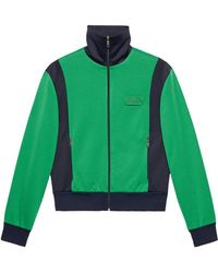 Gucci - Tiger Patch Technical Jersey Jacket - Lyst