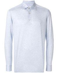 Kiton - Longsleeved Polo Shirt - Lyst