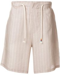 The Silted Company - Striped Shorts - Lyst